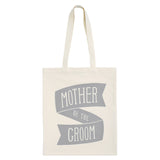 mother of the groom canvas bag grey accessories