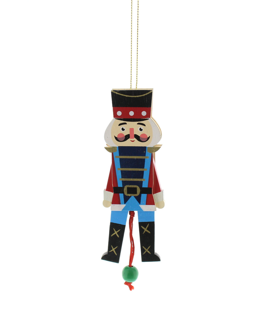 Nutcracker Decoration With Moveable Arms