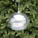 Iridescent Giant Glass Bauble