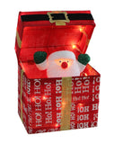Animated Santa And Belt Parcel 30cm