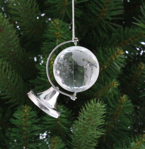 Pug And Tree Christmas Bauble