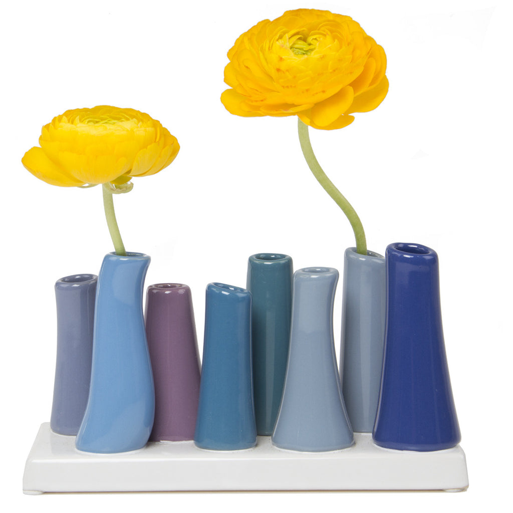 pooley tube vase cobalt homeware