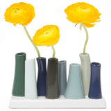 pooley tube vase forest homeware