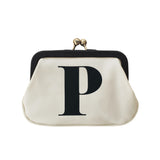 letter P coin purse accessories