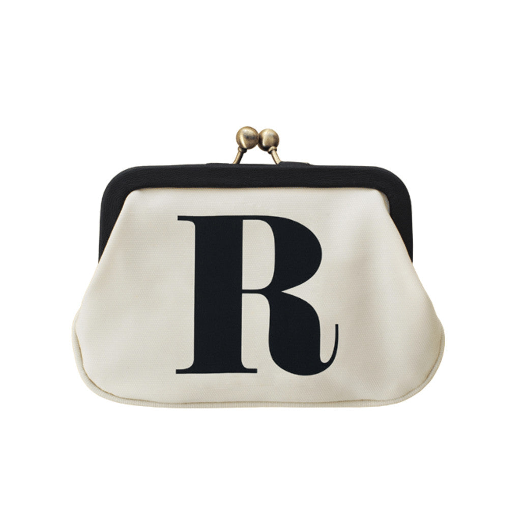letter R coin purse accessories
