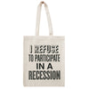 recession canvas bag accessories