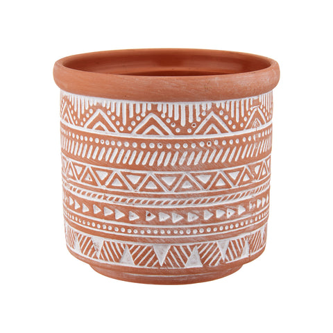 Seagrass Tribal Pattern Storage Basket