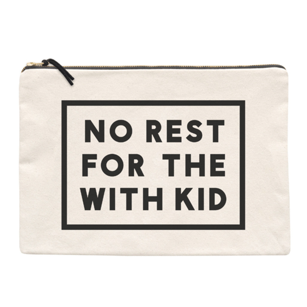 No Rest Travel Pouch