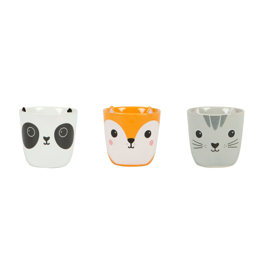 Kawaai Friends Egg Cup Set Of 3