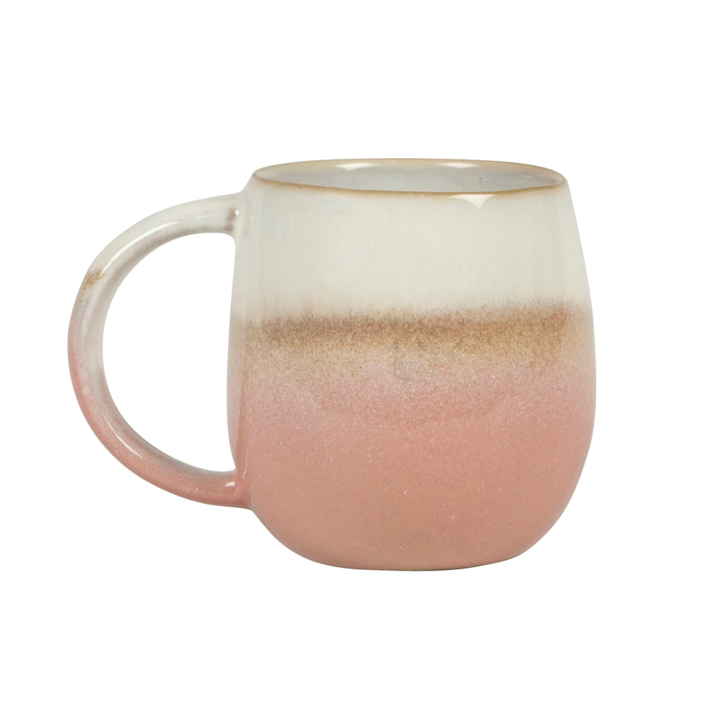 Ombre Roung Mug Pink