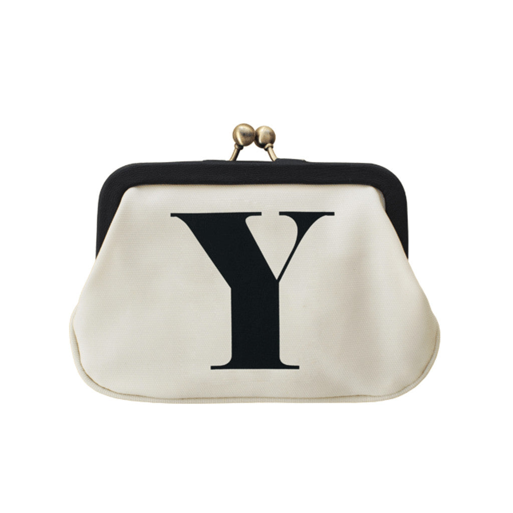 letter Y coin purse accessories