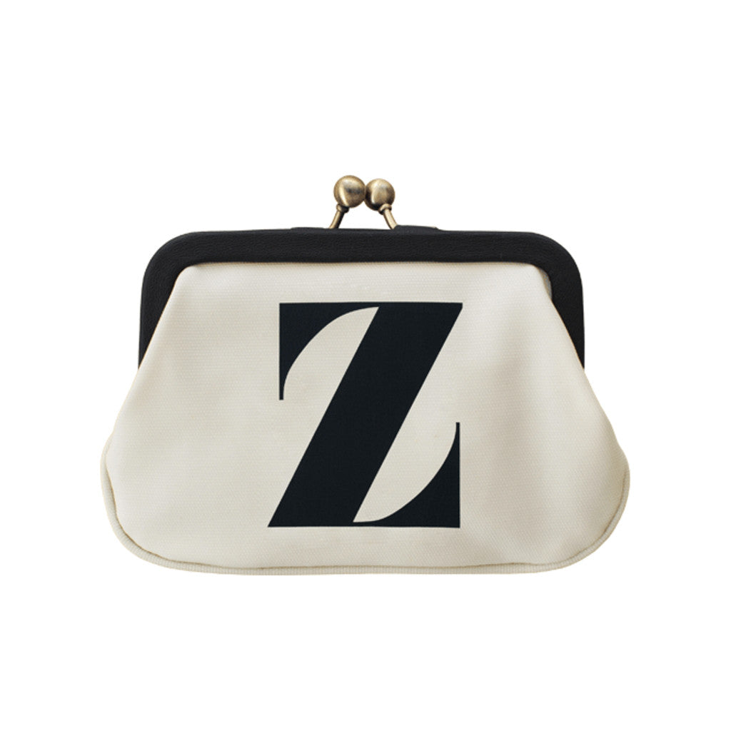 letter Z coin purse accessories
