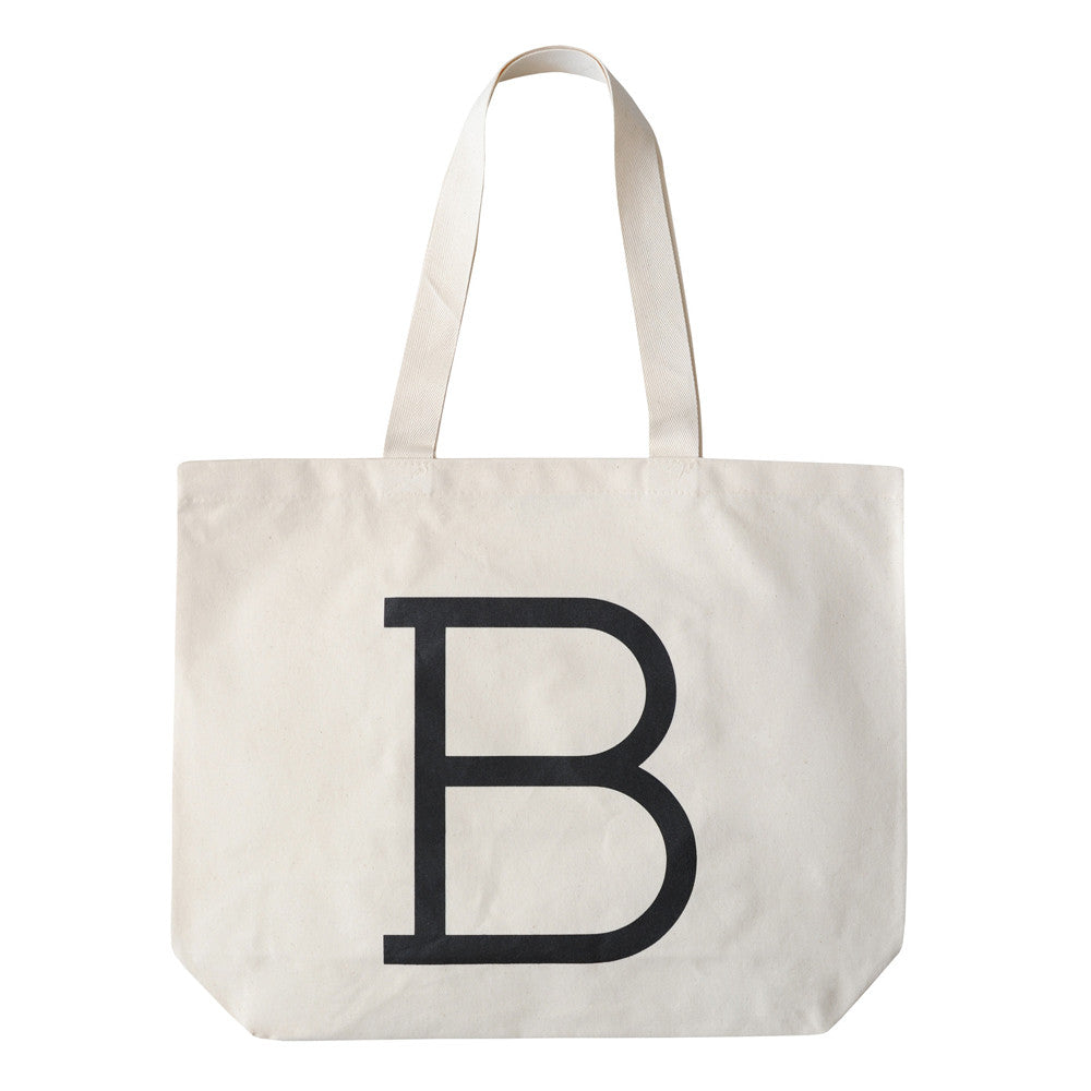 Letter Canvas Bag