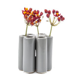 puzzle pooley vase light grey homeware