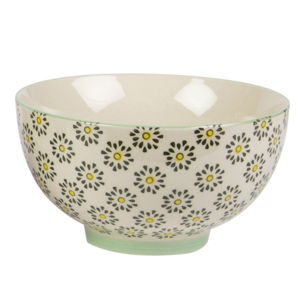 Ria bowl with daisy pattern