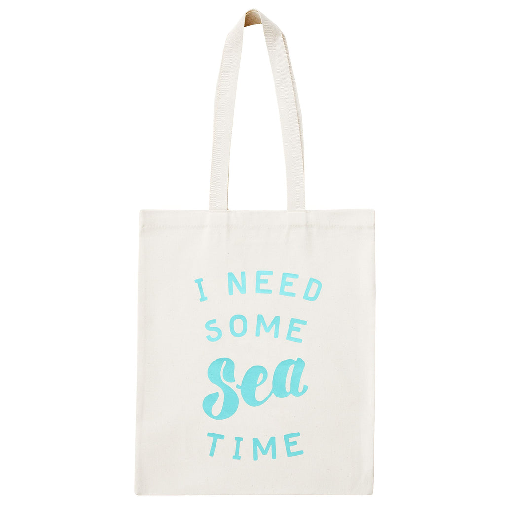 Sea Time Canvas Bag