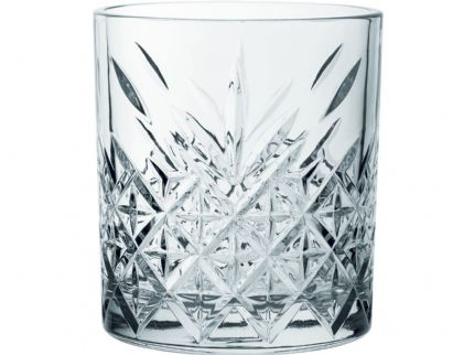 Timeless Vintage Glass Tumbler 12.5oz