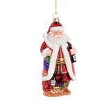 Vineyard Wine Santa Bauble