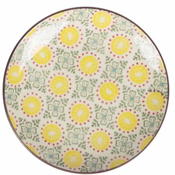 zahara plate yellow