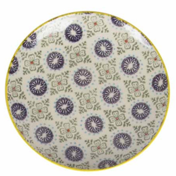 zahara plate purple