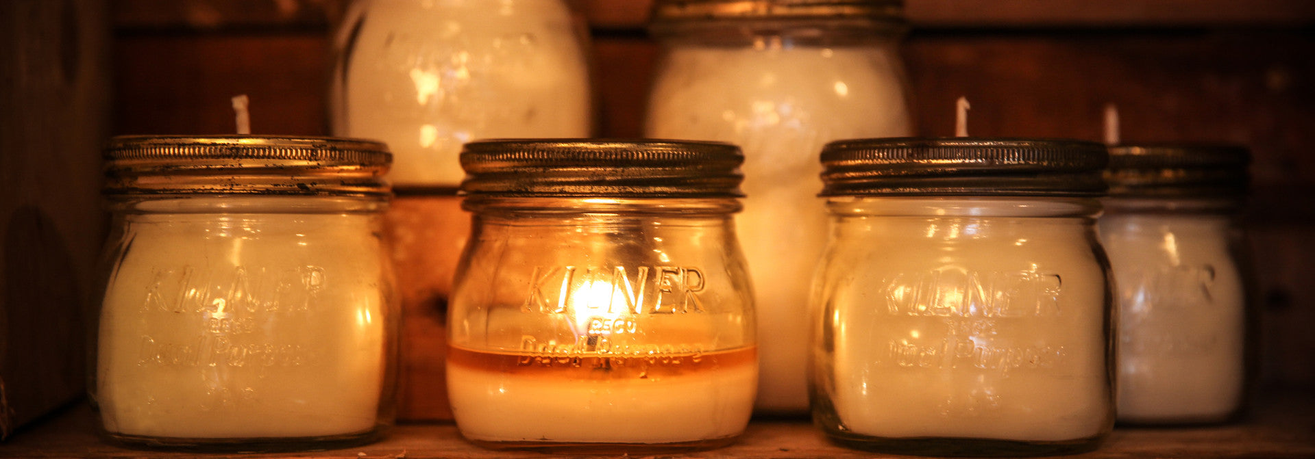 handmade candles soya wax vintage kilner jar fragrant scented candle