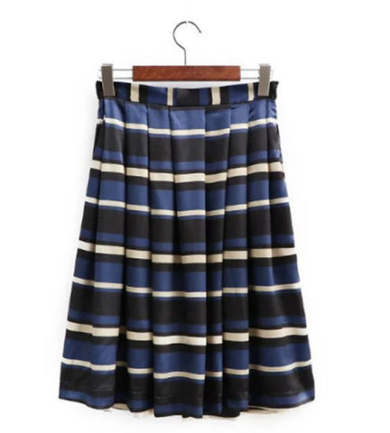 Malliot Stripe Skirt - OverStacked - 1