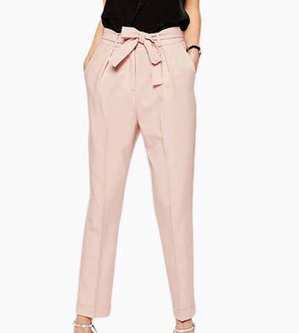 Elliot Tie Knot Trousers - OverStacked - 1