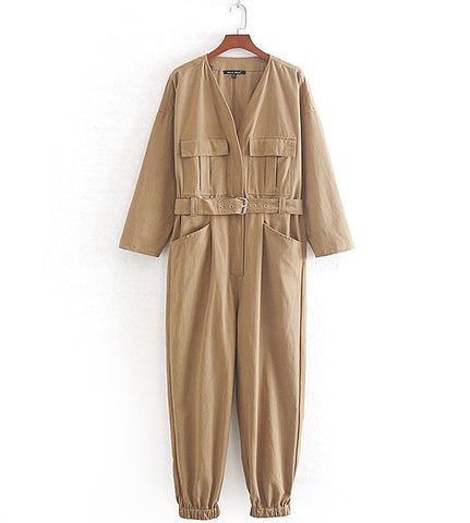 Sawyer Cargo Jumpsuit