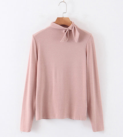 Cole Tie Knot Neck Sweater