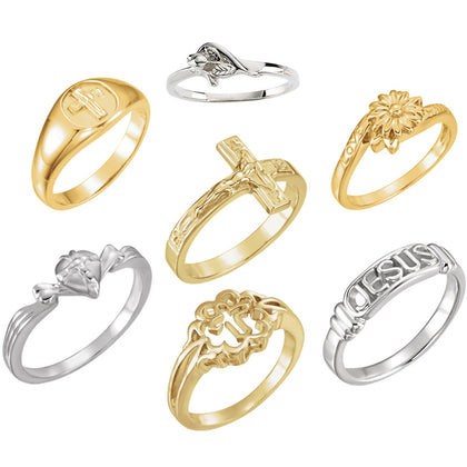 Purity, Chastity & Promise Rings