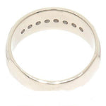 14K Gold 0.50 CTW 8 Diamond Unisex Band