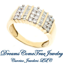 10K Gold Ladies Diamond Ring with 1.00 ctw