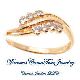 14K Ladies Fashion Diamond Ring with 0.30 CTW