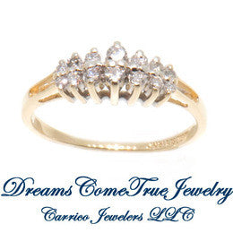 0.46 CTW Diamond 14K Gold Anniversary Band