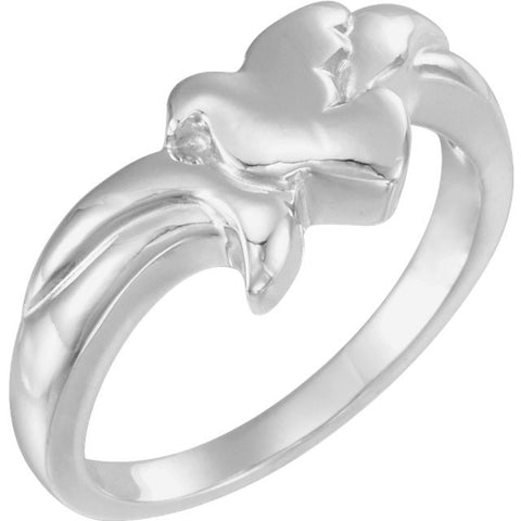 14K, 10K Gold Holy Spirit Dove Ring