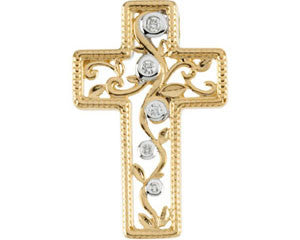 14K Yellow Gold Journey to the Cross