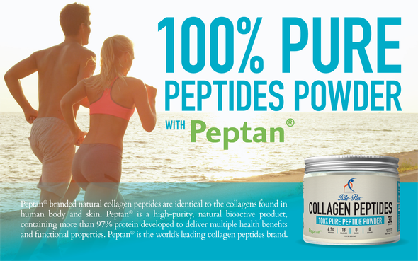 Rite-Flex Collagen Peptides - Peptan® 100% Protein Peptide Powder 150g - Hydrolysed & Bioactive - Simply Add 5g Scoop to Food & Beverages - No Sugar & Carbs - Meets with 2019 WADA Code- Made in France