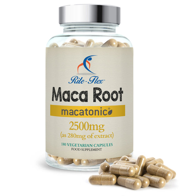Maca Root Macatonic® 2500mg, 180 Vegetarian Capsules
