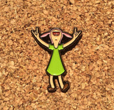 Louise Enamel Pin