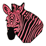 Pink Bass Zebra Hat Pin