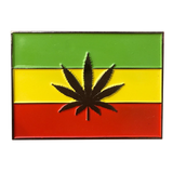 Rasta Flag Hat Pin