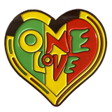 One Love Hat Pin