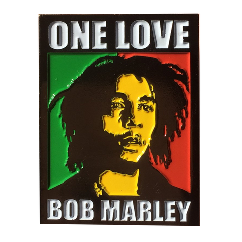Bob Marley One Love Hat Pin