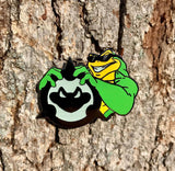 Battletoads Glow in the Dark Hat Pin