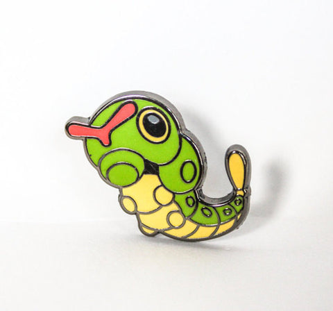 Caterpie Lapel Pin