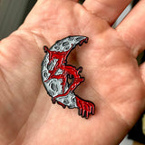 Zeds Dead Blood Moon Hat Pin