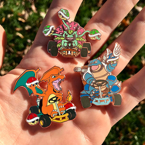 Poke'Karts Hat Pin Full Set V3 Bronze