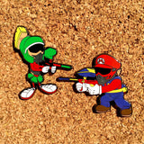 Marvin the Martian Paintball Hat Pin