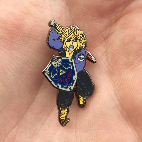Future Link Hat Pin