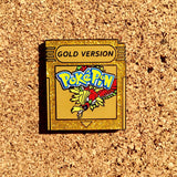 Pokemon Gold & Silver Version Hat Pins